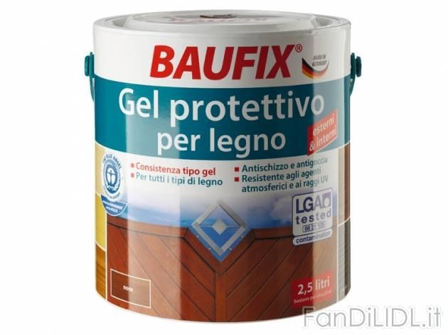 Impregnante baufix pannelli termoisolanti for Impregnante per legno esterno prezzi
