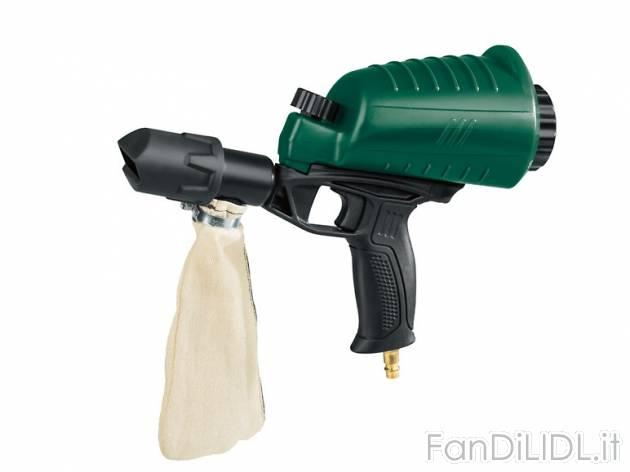Pistola sabbiatrice officina attrezzi lidl tecnico for Pistola pneumatica parkside