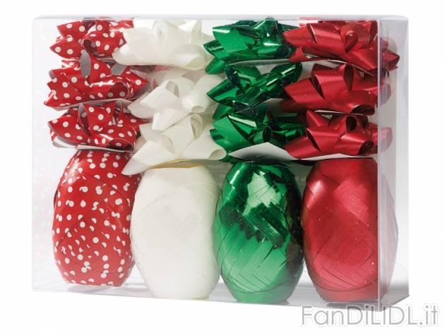 Set nastro per pacchi, Feste, regali, Babbo di Natale - Fan di Lidl