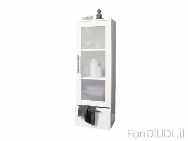 Armadietto da bagno bagno accessori interno fan di lidl - Mobiletto del bagno ...
