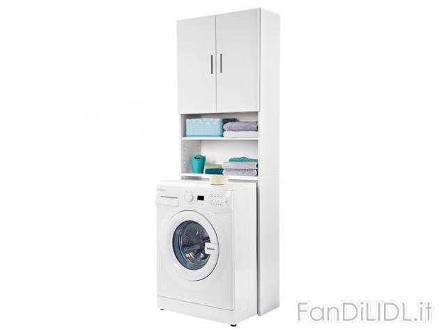 Mobile per lavatrice pulizia della casa sistemazione - Mobile lavatrice ...
