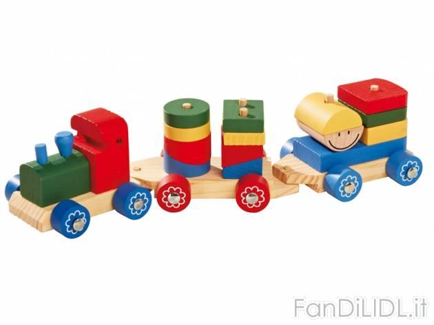 Trenino in legno per bambini fan di lidl - Trenino di legno ikea ...
