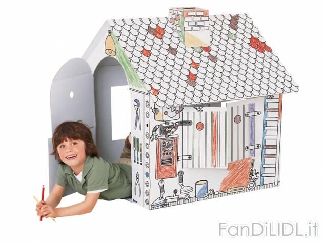 Casa moderna roma italy casette di cartone per bambini - Costruire una casetta di cartone per bambini ...