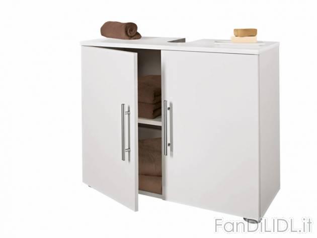 Mobiletto sottolavabo arredo interni arredamento casa fan di lidl - Mobiletto bagno ...