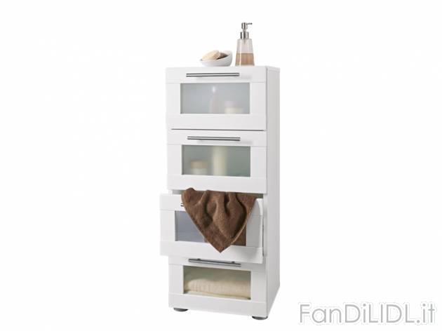 Cassettiera per arredo interni arredamento casa fan di lidl - Cassettiera bagno ...