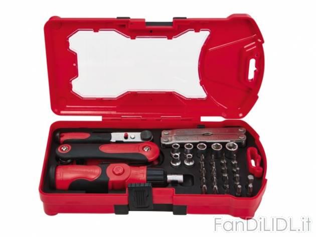 Box con utensili officina attrezzi lidl tecnico fan for Attrezzo multifunzione lidl
