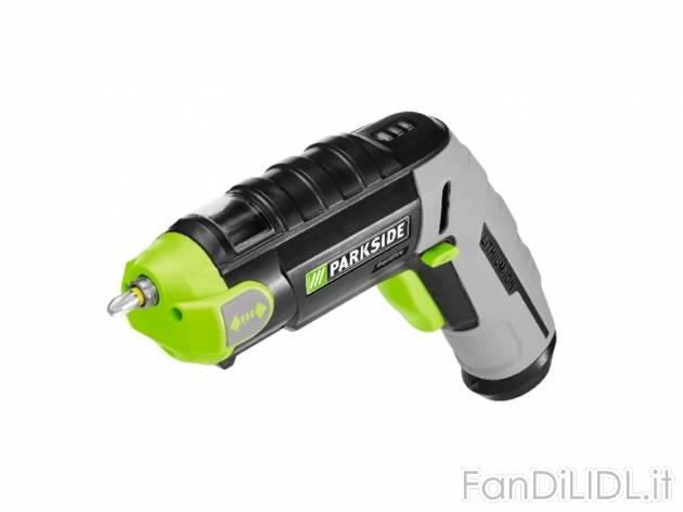 Avvitatore a pistola officina attrezzi lidl tecnico for Trapano avvitatore parkside 20v recensioni