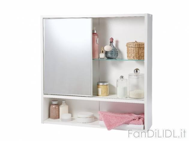 Mobiletto con specchio per bagno voffcacom terrazza - Mobiletto con specchio ...