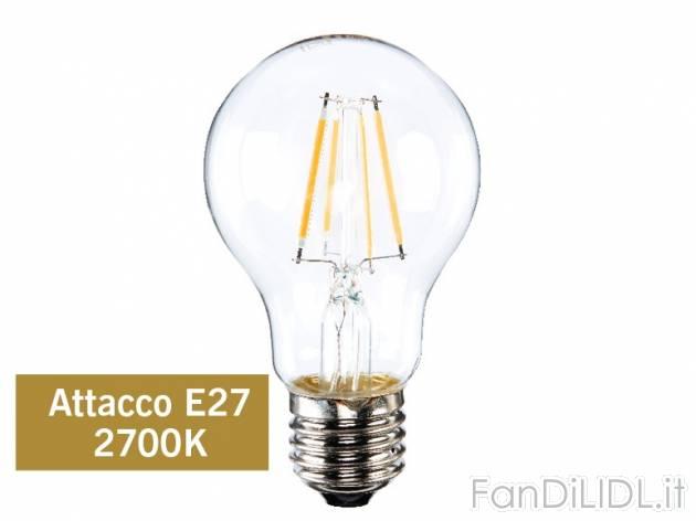 lampadina led prezzo : Lampadina LED 4W a filamento , prezzo 4,99 ? per Alla confezione ...