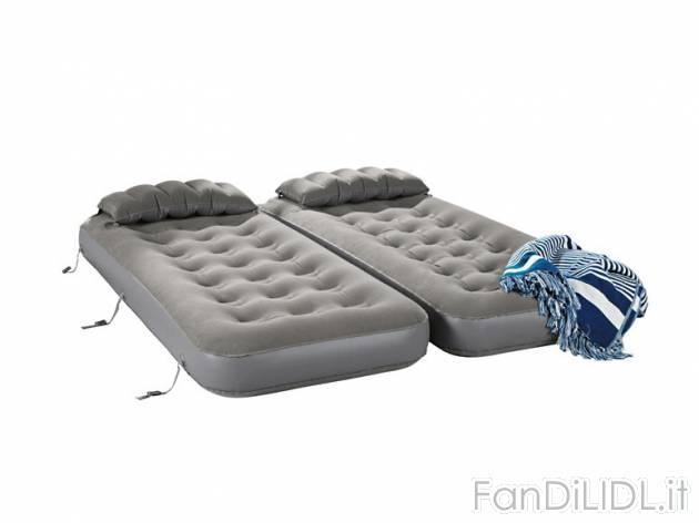 Letto doppio gonfiabile camera da letto fan di lidl for Letto gonfiabile