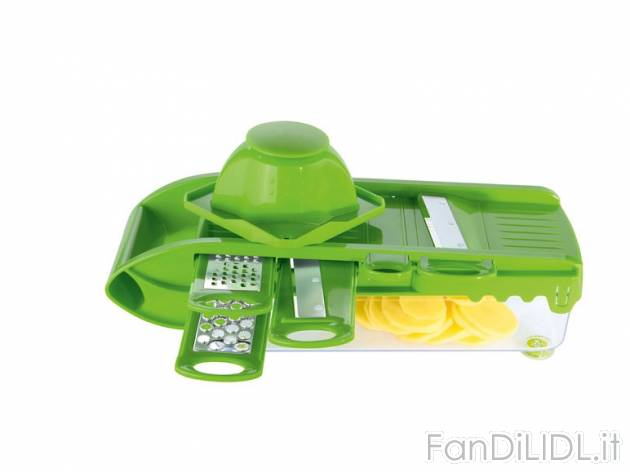 Grattugia multifunzione cucina fan di lidl for Attrezzo multifunzione lidl