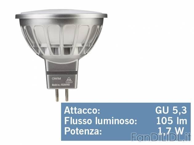 lampadina per faretto : Lampadina o faretto a LED , prezzo 2,99 ? per Alla confezione ...