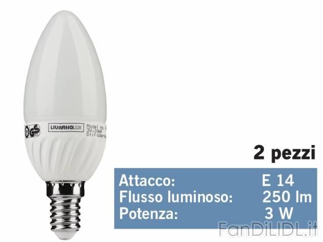 lampadina led prezzo : Lampadina LED a candela/a goccia , prezzo 5,99 ? per Alla confezione ...