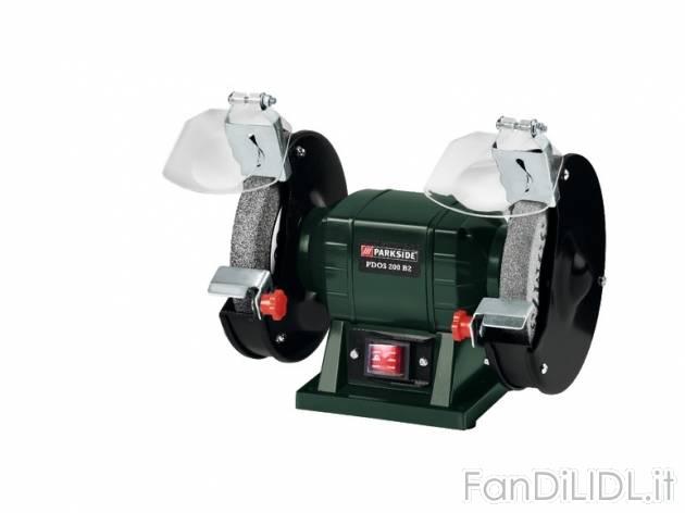 Smerigliatrice doppia officina attrezzi lidl tecnico for Smerigliatrice parkside