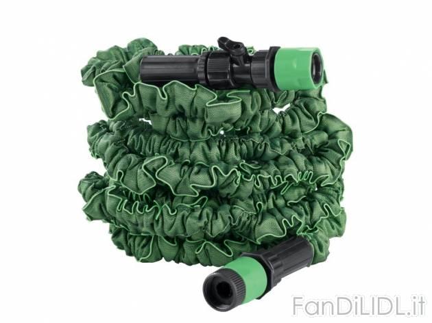 Tubo estensibile giardino fan di lidl - Prezzo tubo irrigazione giardino ...
