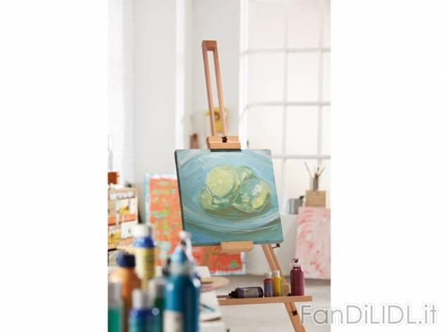 Cavalletto per pittore per bambini fan di lidl for Cavalletto pittore