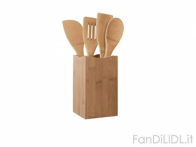 Set utensili da cucina fan di lidl for Set utensili da cucina