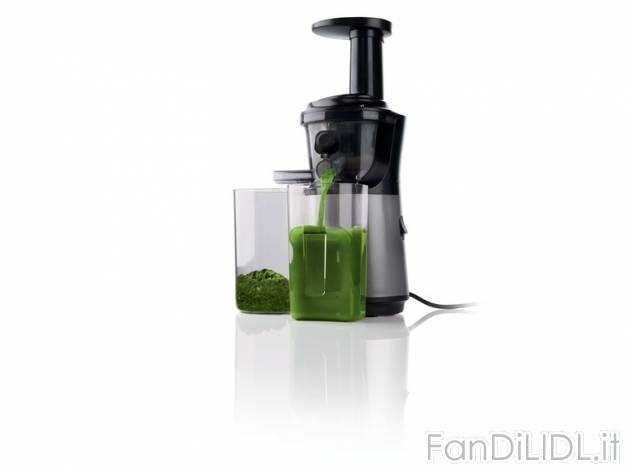 Estrattore Di Succo Slow Juicer Silvercrest Opinioni : Estrattore di succo, Cucina - Fan di Lidl