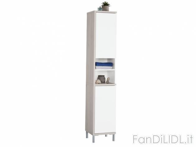 Armadietto a colonna bagno accessori interno fan di lidl - Armadietto bagno ...