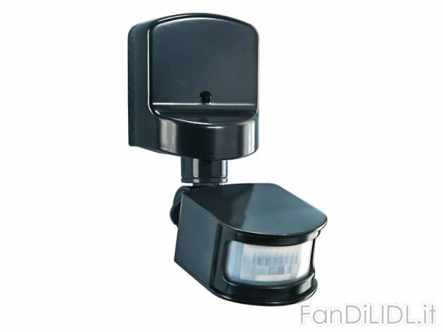 Sensore di movimento elettronica atrezzature rtv fan for Mantenitore di carica lidl