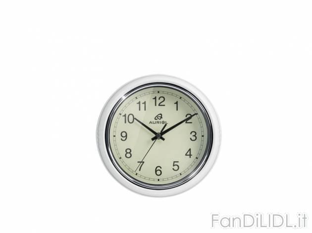Orologio da parete cucina fan di lidl for Orologio da parete radiocontrollato