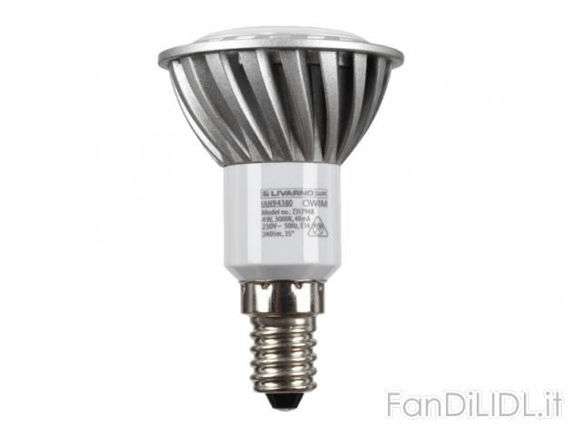 lampadina led prezzo : Lampadina a LED candela o riflettore Livarno Lux, prezzo 5,99 ? per ...