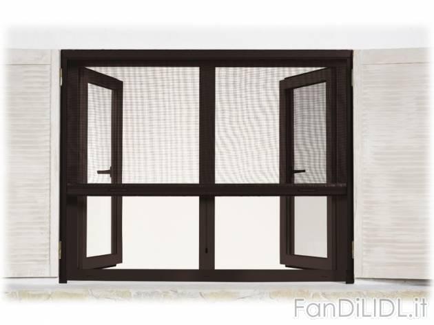 Zanzariera a rullo giardino fan di lidl - Zanzariera finestra prezzo ...