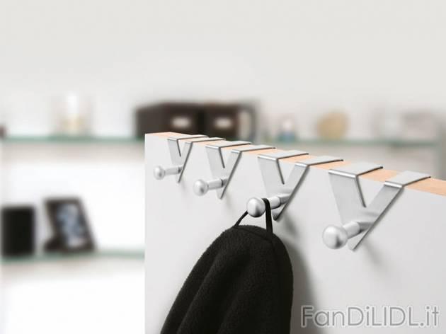 Appendiabiti per arredo interni arredamento casa fan - Appendiabiti per bagno ...