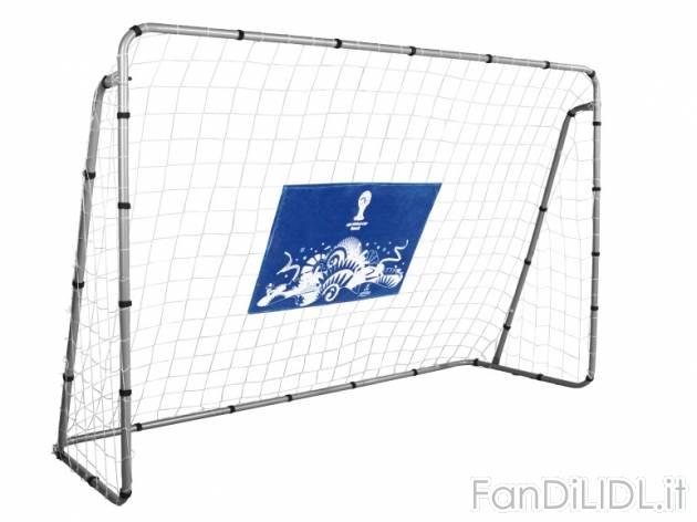 Porta da calcio sport e ricreazione fan di lidl - Dimensioni porta calcio ...