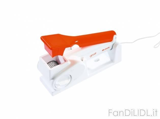 Grattugia elettrica elettrodomestici agd fan di lidl for Mantenitore di carica lidl