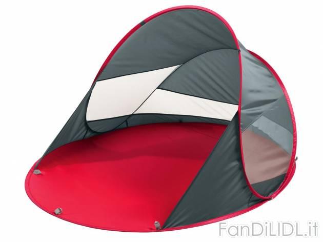 Tg one size grand canyon malibu tenda da spiaggia protezione