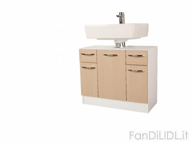 Mobile sottolavabo bagno accessori interno fan di lidl - Mobile copricolonna bagno ...