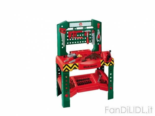 Tavolo Da Lavoro Lidl : Banco da lavoro per bambini fan di lidl