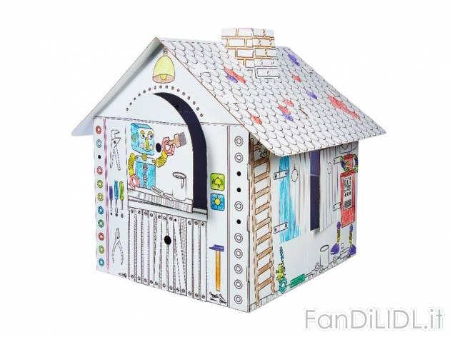 Casetta Di Natale Da Colorare : Casetta in cartone per bambini fan di lidl