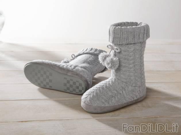 Moda Di Pantofole Abbigliamento Lidl Fan A Stivale 6TZZnv8 ... e0d71fb2e21