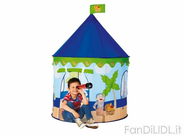 Tenda gioco per per bambini fan di lidl
