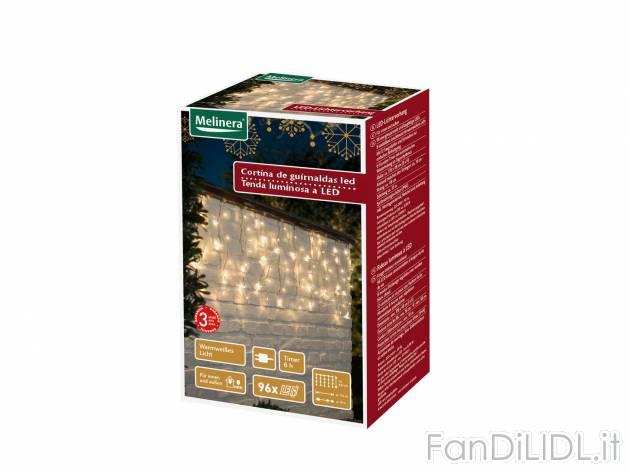 Tenda o rete luminosa arredo interni arredamento casa fan di lidl