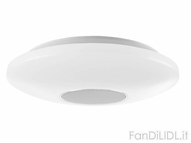 Lampada Led Da Soffitto : Lampada led da soffitto elettronica atrezzature rtv fan di lidl