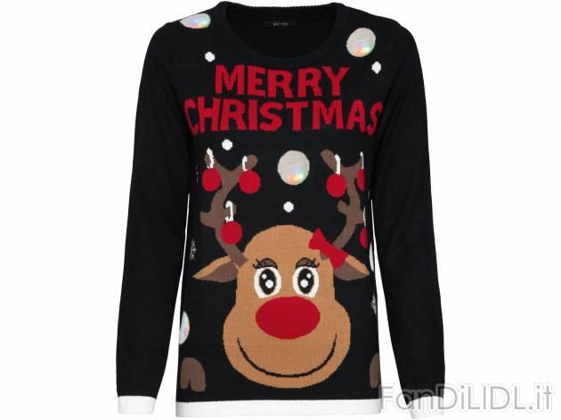 comprare popolare 18f0f 1187d Pullover natalizio Merry Christmas, Moda, abbigliamento ...