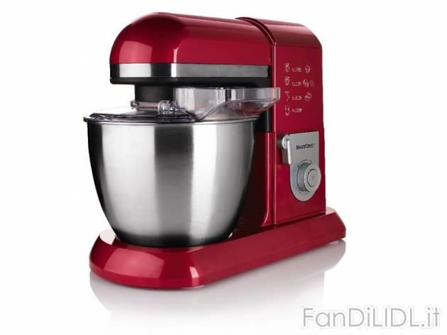 robot da cucina rosso o antracite prezzo 9999 per