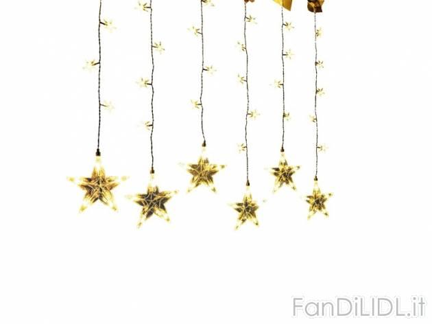 Tenda luci natalizie arredo interni arredamento casa for Luci d arredo casa