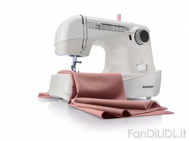 Macchina da cucire elettrodomestici agd fan di lidl for Lidl offerte della settimana macchina da cucire