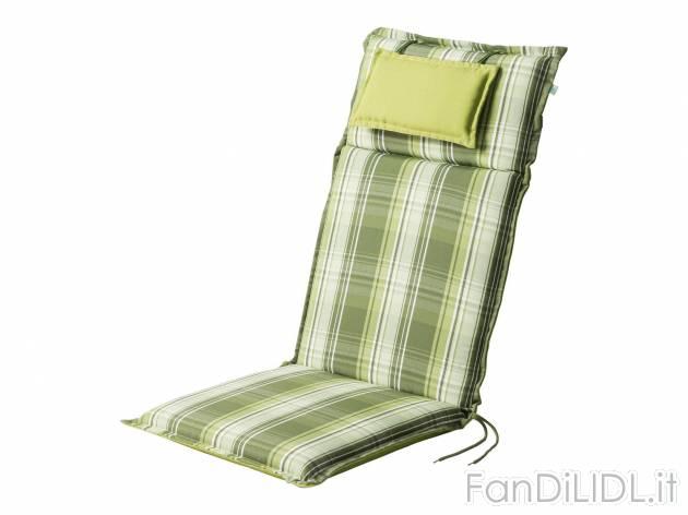 Sedie Sdraio Giardino Prezzi.Cuscino Per Sedia Giardino Fan Di Lidl
