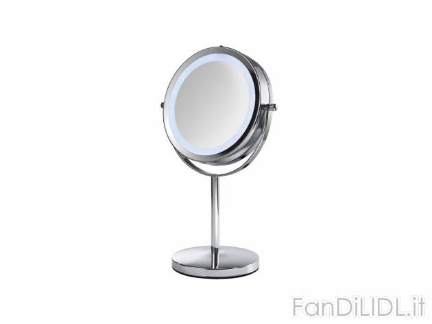Specchio a led per bagno accessori interno fan di lidl - Specchio bagno led prezzo ...
