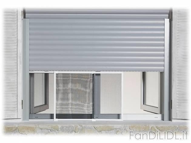 zanzariera scorrevole arredo interni arredamento casa fan di lidl. Black Bedroom Furniture Sets. Home Design Ideas