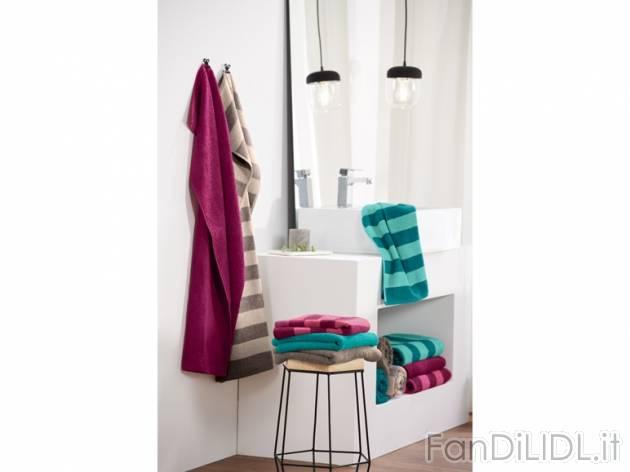 Telo doccia bagno accessori interno fan di lidl