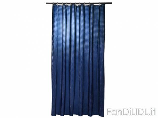 Tenda per doccia bagno accessori interno fan di lidl
