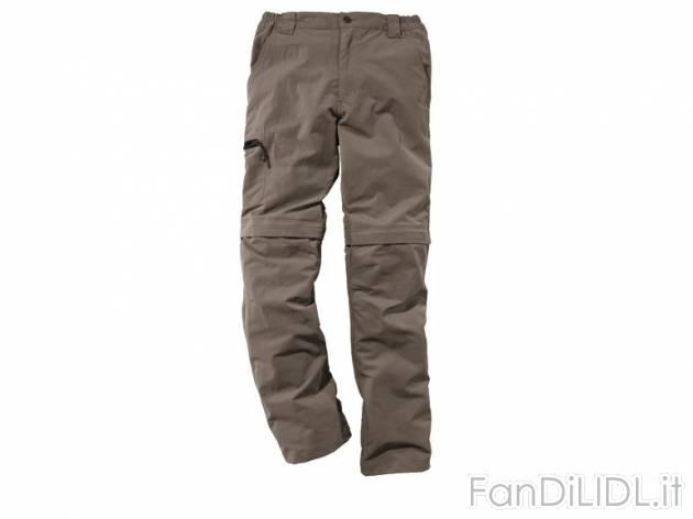 Fan Abbigliamento Pantaloni Lidl Da Di Moda Trekking wIWHPS