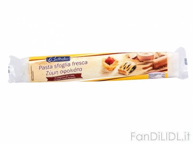 Célèbre Pasta sfoglia rettangolare, Articoli alimentari - Fan di Lidl ND11
