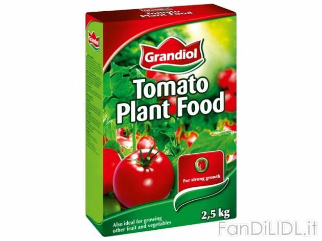 Concime per pomodori fiori fan di lidl for Concime per pomodori